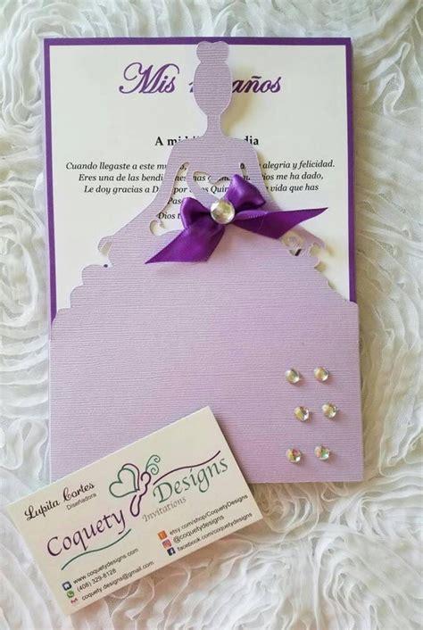 beautiful quinceanera invitation sweetsixteenquinceanera