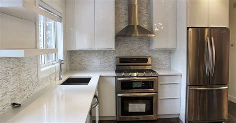 pretty swanky digs: Ikea Abstract Kitchen (white high gloss)
