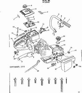 Wiring Diagram  28 Craftsman Chainsaw Parts Diagram