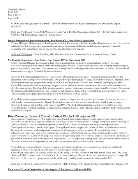 Ecommerce Resumes by Ecommerce Resume David Altman Consumer Goods Retail