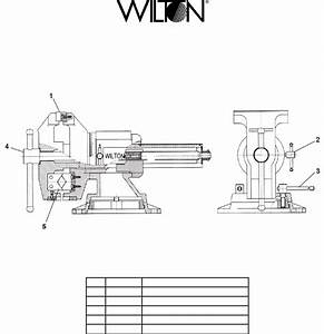 35 Wilton Vise Parts Diagram