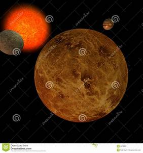 Solar System - Venus Stock Image - Image: 4219391