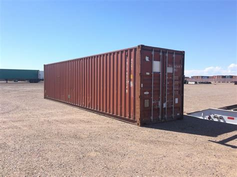 40' High Cube Cargo Shipping Storage Containers Conex