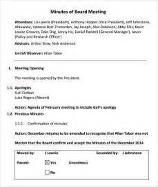 Sample Board Meeting Agenda Template - 11+ Free Documents