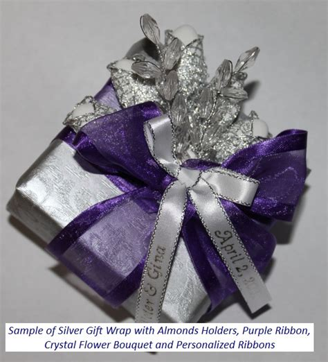 fancy gift wrapping   favor