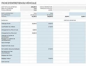 Carnet D Entretien Voiture A Imprimer : fiche d entretien de v hicule ~ Maxctalentgroup.com Avis de Voitures