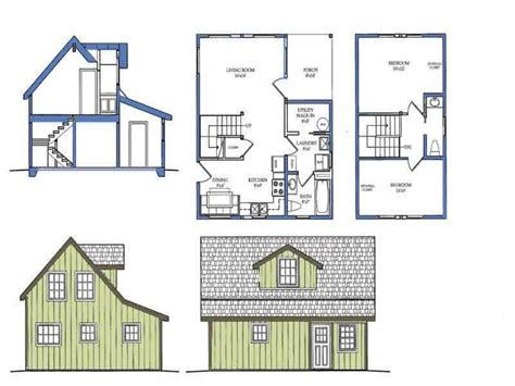 Small House Plans with Loft Bedroom Small House Plans with