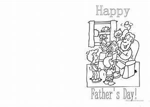 Father's Day Card worksheet - Free ESL printable ...