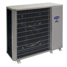 carrier performance  ton  seer residential horizontal air conditioner condensing unit