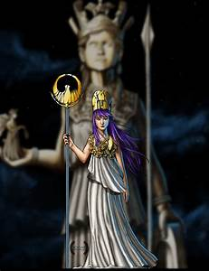 Saint Seiya Athena Fan-art by jogar777 on DeviantArt