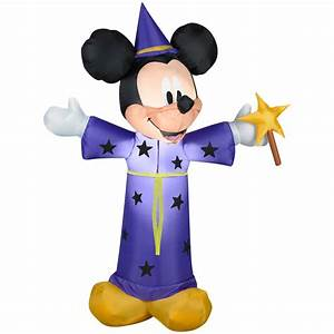 Shop Gemmy 4-ft Lighted Mickey Mouse Halloween Inflatable