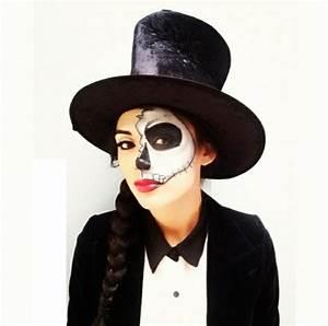 Gruselige Hexe Schminken : halloween schminke als zombie auf der halloween party ~ Frokenaadalensverden.com Haus und Dekorationen