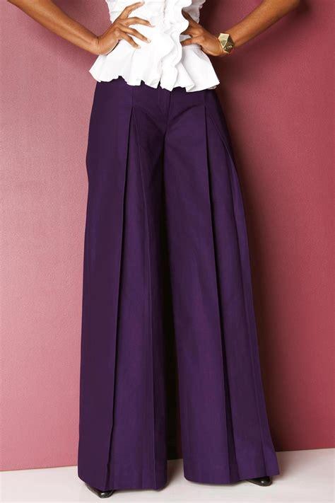 palazzo pants ideas  pinterest pantalones