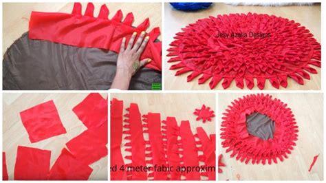 floor mat   cloth simple craft ideas