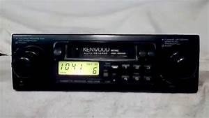 Vintage Kenwood Krc-1006 Am  Fm  Cassette Car Stereo