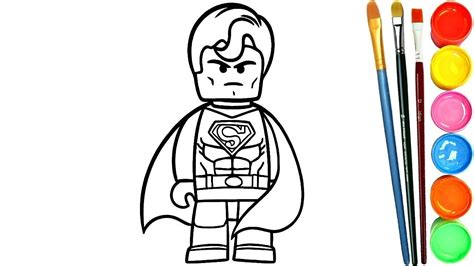 Permalink to Superman Para Colorear