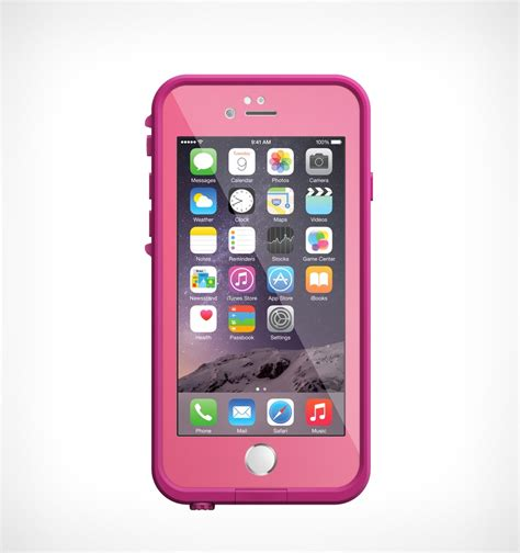LifeProof Fre iPhone 6 Water/Shockproof Case Power Pink