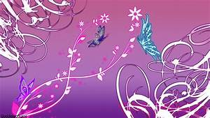 Pink and Purple Butterfly Wallpaper - WallpaperSafari