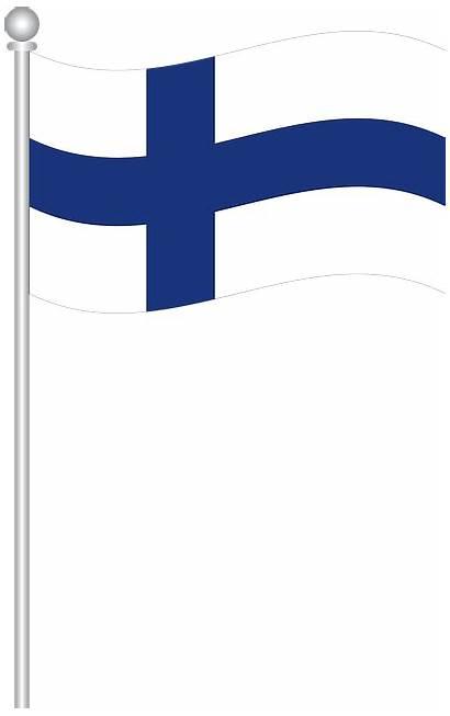 Finland Clipart Flag Pixabay Travel Flags Scandinavia