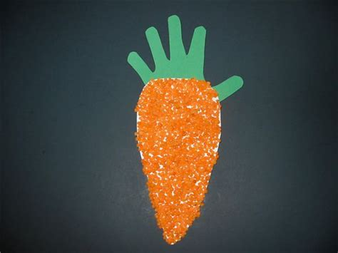fun vegetable print art project ideas  young children