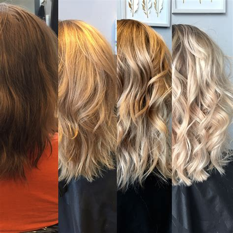 Before And After To Brown by The Process Of To Before And After