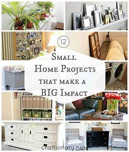 12, diy, small, home, projects, , big, impact