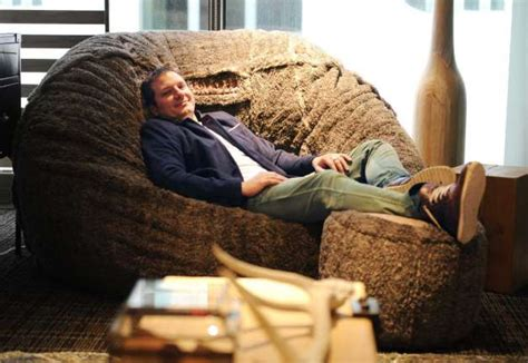 Lovesac Founder by Lovesac Kicks Back In New Hq Stamfordadvocate