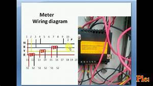 How To Ct With Electric Meter Wiring Diagram   Current