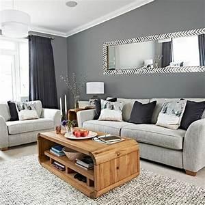 Wohnzimmer Gestalten Grau : farbideen wohnzimmer grau ~ Michelbontemps.com Haus und Dekorationen