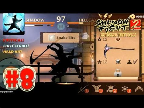 shadow fight 2 special edition weapons 8 dissector of