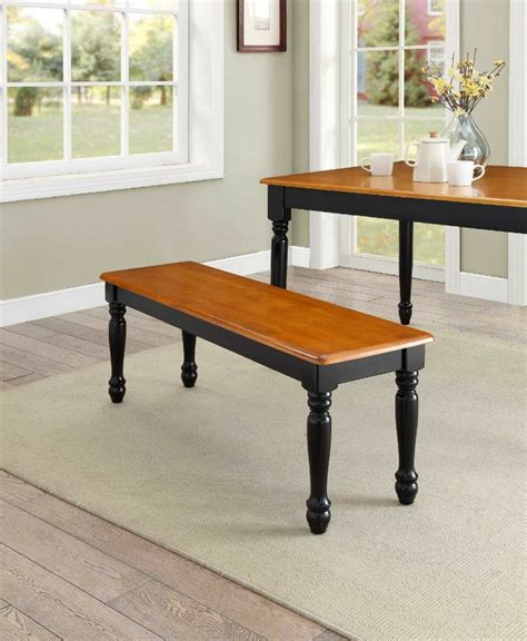 pc farmhouse bench  dining table benches kitchen room