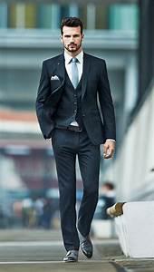 Costume Mariage Homme Gris : le costume gris anthracite homme en 40 photos ~ Mglfilm.com Idées de Décoration