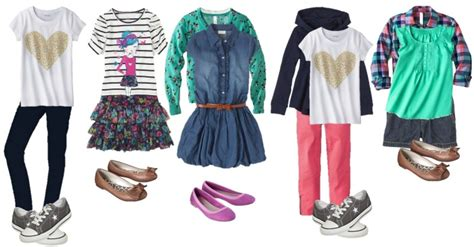 School Clothes for Girls - Mix and Match
