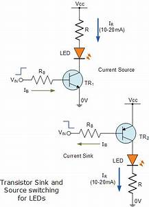 What Is The Circuit Diagram Of Led Driver Circuits And The