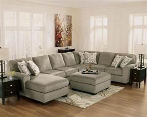 Ashley furniture vista chocolate sofa sectional for Ashley furniture vista chocolate sofa sectional