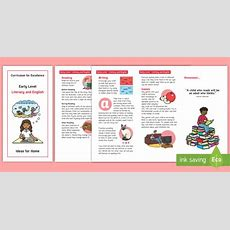 * New * Early Level Cfe Literacy And English Information Leaflet Adult