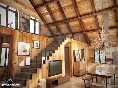 stunning interieur chalet en bois photos awesome interior home satellite delight us