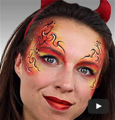 halloween   tutorials easy halloween face paint party delights