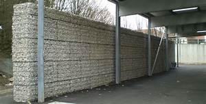 Mur De Soutenement En Gabion : mur de cloture gabions ~ Melissatoandfro.com Idées de Décoration