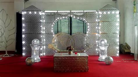 elegant led light wedding event stage backdrop  wedding