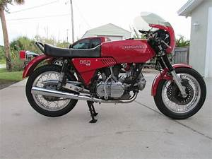 U201cpasta Rocket U201d  U2013 1975 Ducati 860 Gt