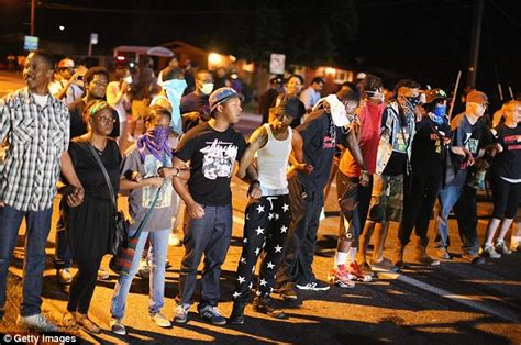Riots After Death in Michael Brown Ferguson