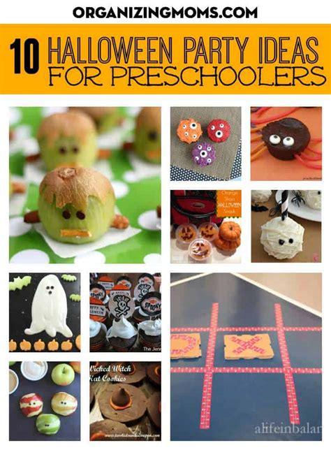 ideas for preschoolers 826   preschool halloween party