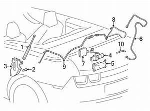 Chevrolet Camaro Convertible Top Hydraulic Pump Bracket