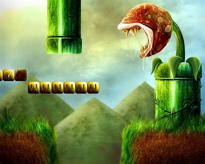 Wallpapers Animated Desktop Mario Awesome Gaming Super