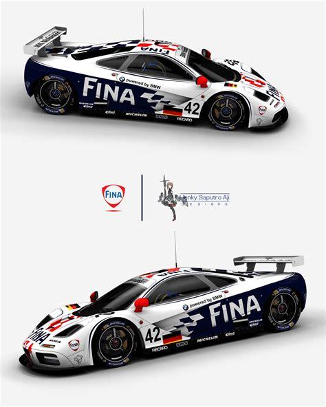 custom mclaren f1 custom fina mclaren f1 gtr 42 racedepartment