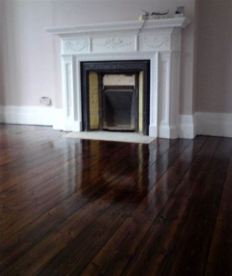 Staining Hardwood Floors Darker by Oak Floorboards Stain And Varnish Interiors
