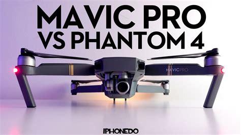 dji mavic pro complete comparison  phantom