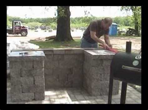 allan block courtyard bbq grill surround hoffman bros