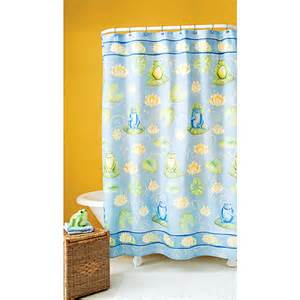 fun frog shower curtain unassigned home walmart com